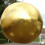 Gold Sphere - Event Decoration - 7theaven