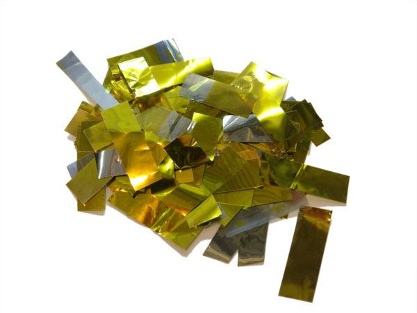 Metallic Slowfall Rectangle Confetti - Confetti - Special Effects - 7theaven