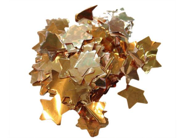 Metallic Slowfall Star Confetti - Confetti - Special Effects - 7theaven
